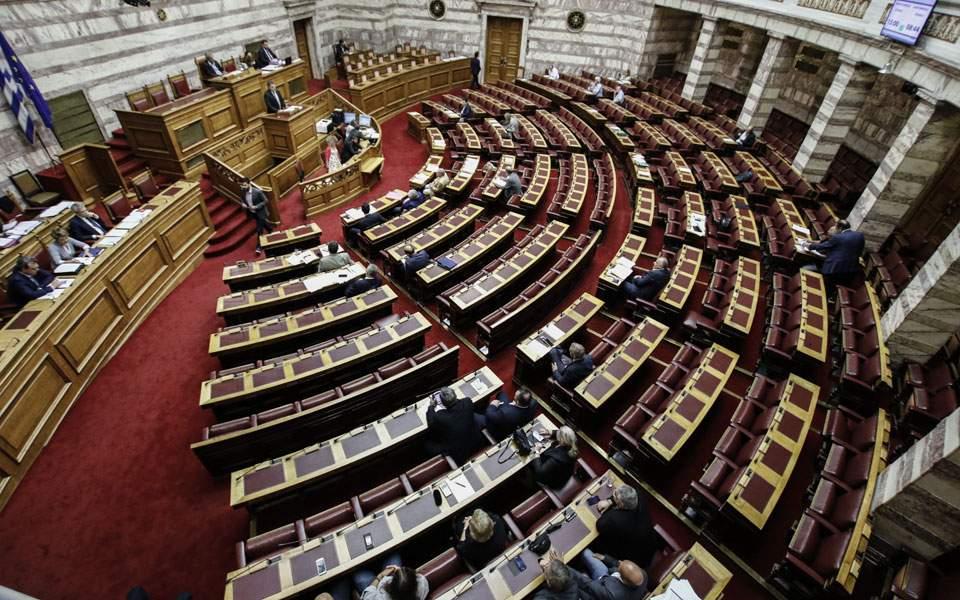 Αμείωτη ένταση στη Βουλή για την τροπολογία που «δίχασε» τη συγκυβέρνηση ΣΥΡΙΖΑ-ΑΝΕΛ