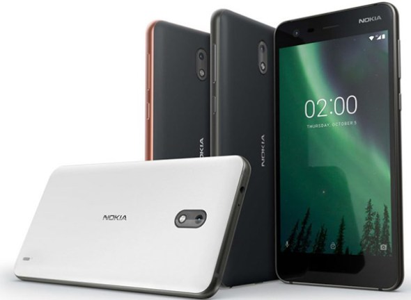 """Nokia 2: Επίσημα με οθόνη 5"""" HD, Google Assistant, μπαταρια 4100mAh και τιμή €99"""