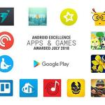 Android Excellence: Αυτά είναι τα κορυφαία apps & games του H1 2018 για Android σύμφωνα με τη Google