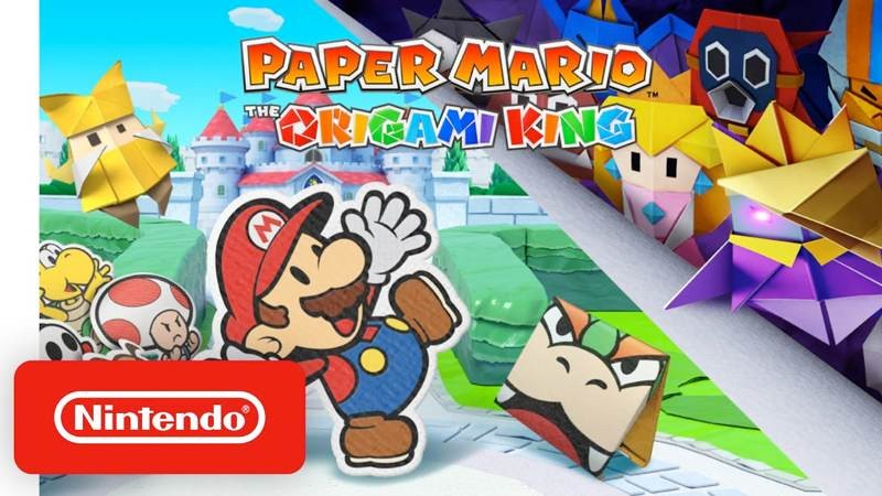 Paper Mario: The Origami King, ανακοινώθηκε επίσημα για το Nintendo Switch