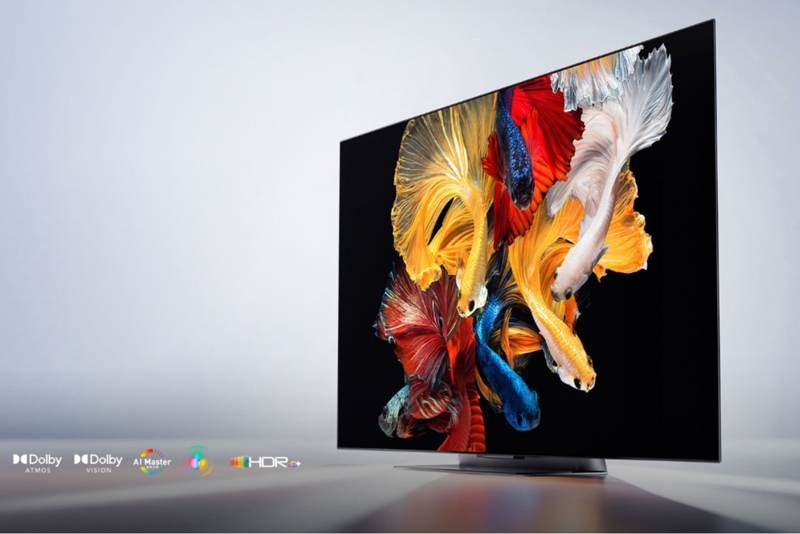 Xiaomi TV Master 65 OLED: Επίσημα με 4K panel 120Hz, 3D ήχο και HDMI 2.1