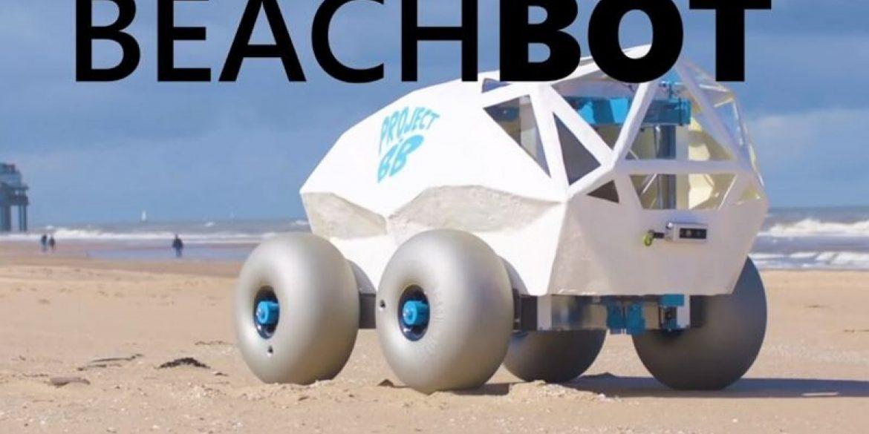 Το robot που καθαρίζει τις παραλίες από σκουπίδια και αποτσίγαρα